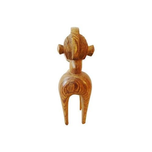 African Vintage African Baga Nimba Kingwood Sculpture For Sale - Image 3 of 7