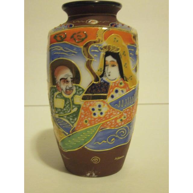 Vintage Japanese Satsuma Vases - Set of 3 - Image 5 of 10