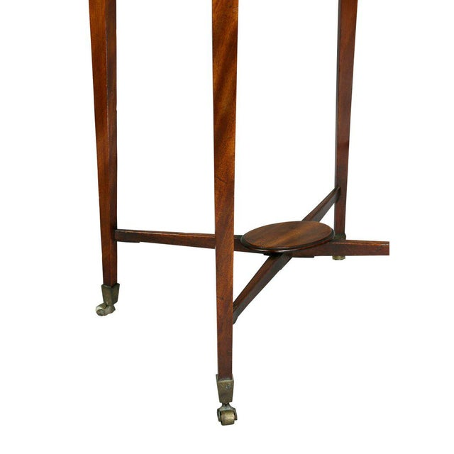 George III Mahogany Work or End Table For Sale - Image 5 of 9