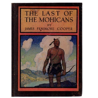 "1924 ""The Last of the Mohicans, Illustrated by N. C. Wyeth"" Collectible Book For Sale"