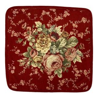 Linen & Velvet Throw Pillow Cover For Sale