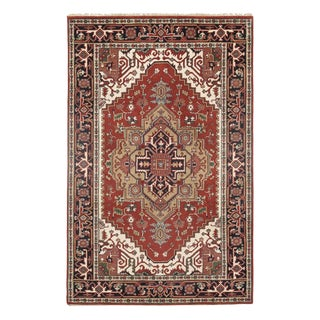Pasargad Serapi Hand-Knotted Rug - 5′1″ × 7′11″ For Sale