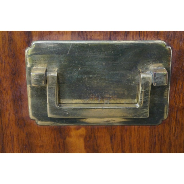 Caning Mid-Century Modern Walnut Cane Door Credenza withDrawers For Sale - Image 7 of 10