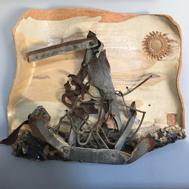 Mid-Century Mixed Media Abstract Sailing Sculpture - Image 2 of 9