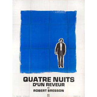 1970s Four Nights of a Dreamer 1971 French Grande Film Poster For Sale