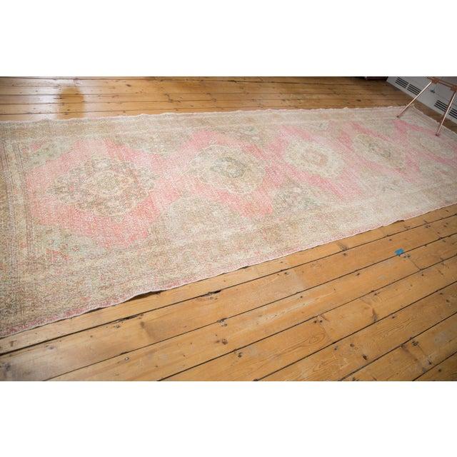 "Vintage Distressed Sparta Rug Runner - 5' x 14'9"" For Sale - Image 4 of 13"