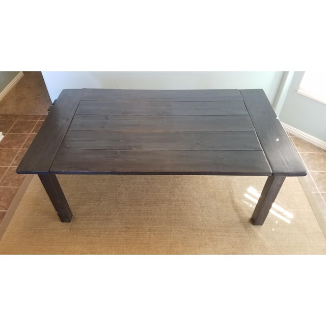 Farmhouse Pine Dining Table - Image 3 of 6