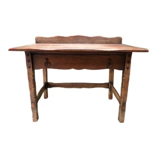 1920s Spanish Revival Karpen Desk For Sale
