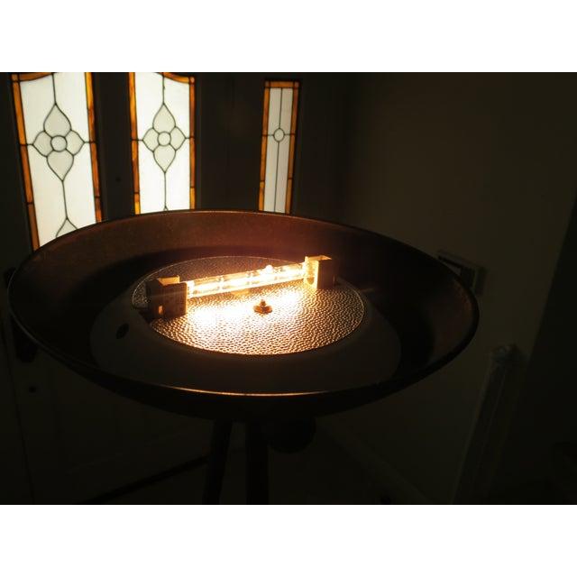 Koch & Lowy Torchiere Floor Lamp - Image 7 of 11
