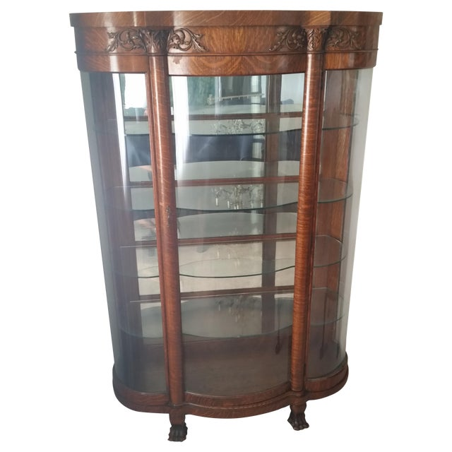 1900s Antique China Cabinet - Image 1 of 6