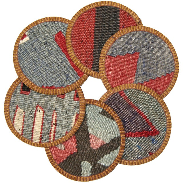 Kilim Coasters, Ceyhan - 6 - Image 1 of 2