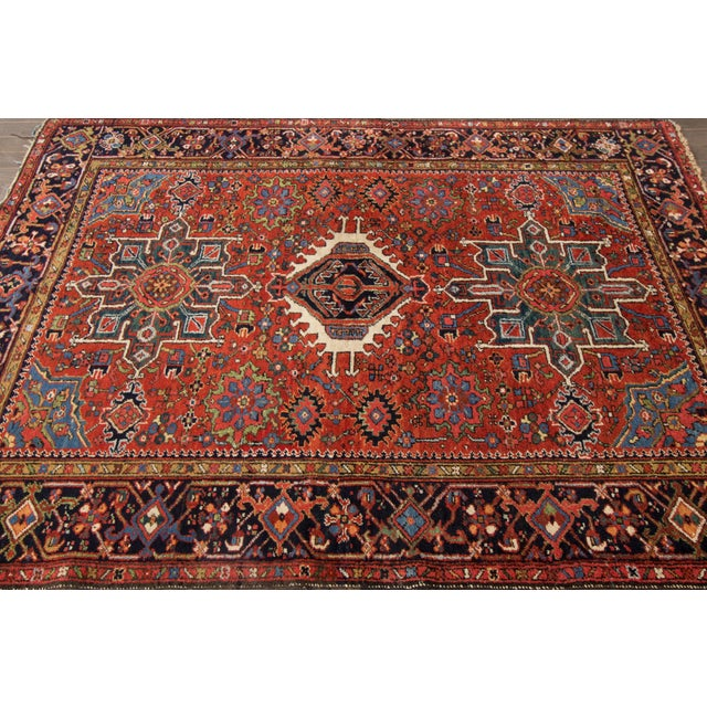 "Apadana Persian Rug -- 5'1"" X 6'4"" For Sale - Image 4 of 4"
