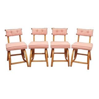 1950s Vintage Dining Chairs - Set of 4 For Sale