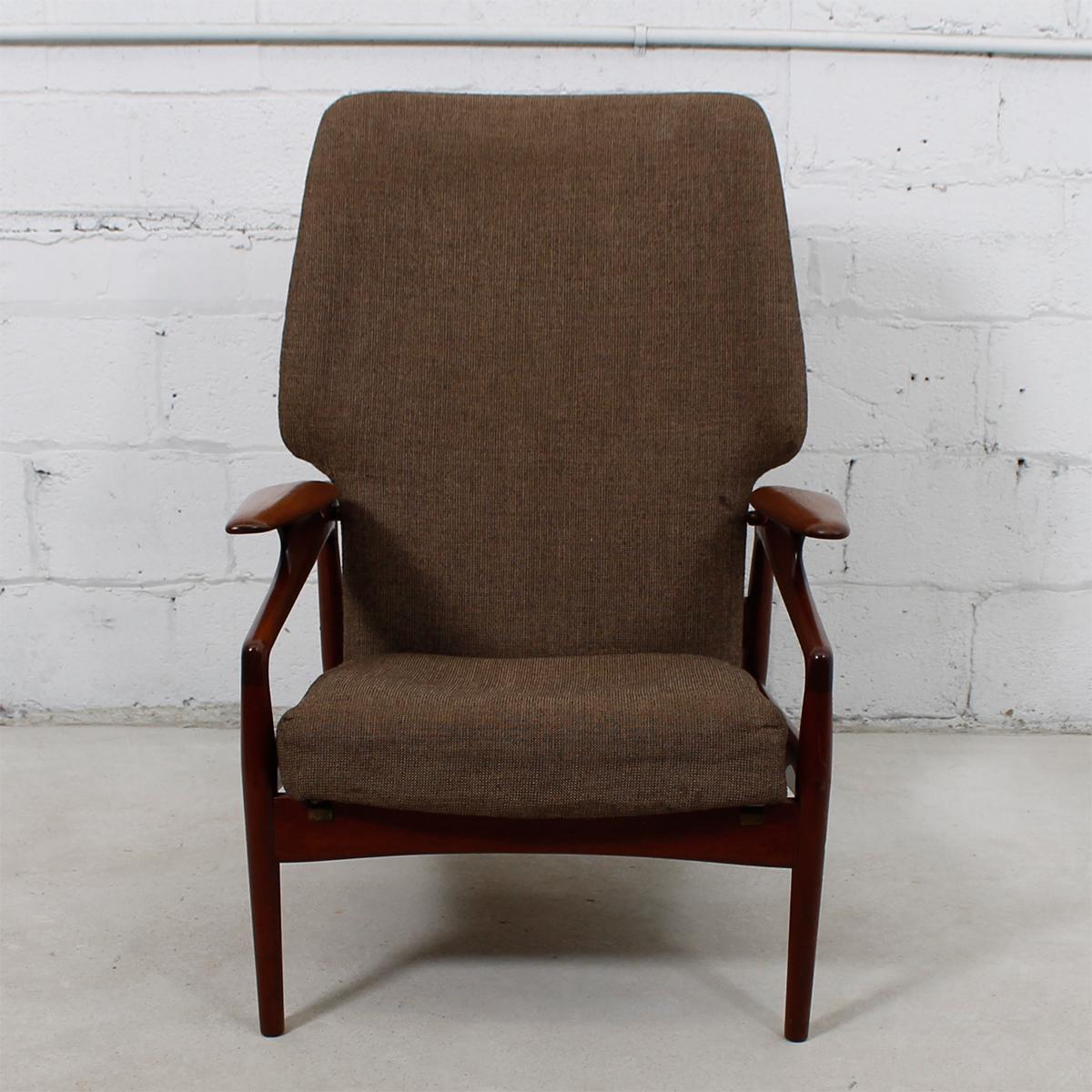 Finn Juhl Reclining Wingback Chair   Image 5 Of 10