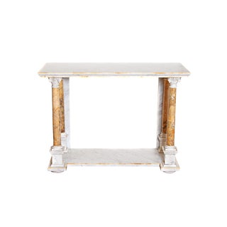 Early 19th Century Italian Marble Console Table For Sale
