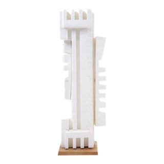 Irving Harper Sculpture of Styrofoam from His Paper Sculpture Series For Sale