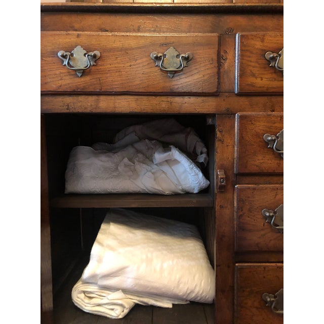 1860s Traditional Welsh China Cabinet For Sale - Image 11 of 13