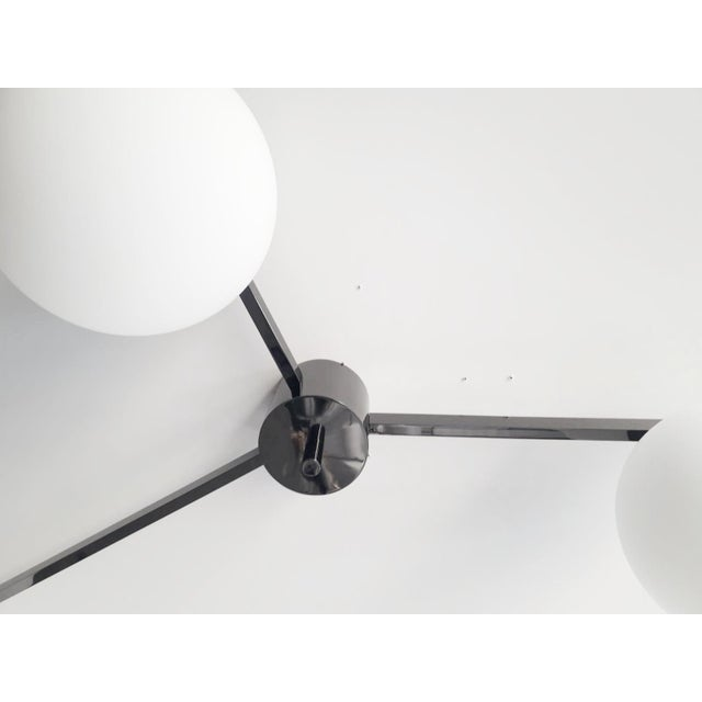 Not Yet Made - Made To Order Trio Flush Mount by Fabio Ltd For Sale - Image 5 of 9