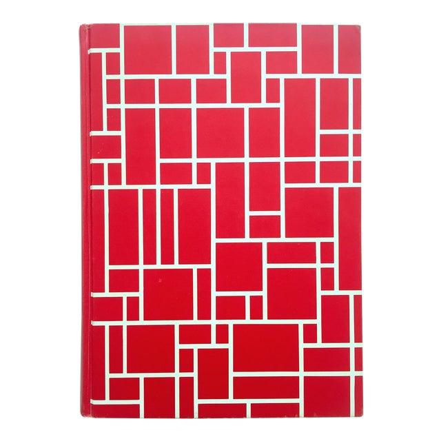 """"""" Piet Mondrian - Life and Work """" Rare Vintage 1956 1st Edtn Collector's Iconic Large Volume Lithograph Print Modernist Art Book For Sale"""