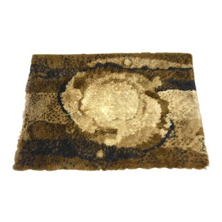 Swedish Modern Rya Shag Rug For Sale