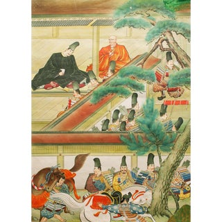 Pre-1945 XXX Large Japanese History Poster For Sale