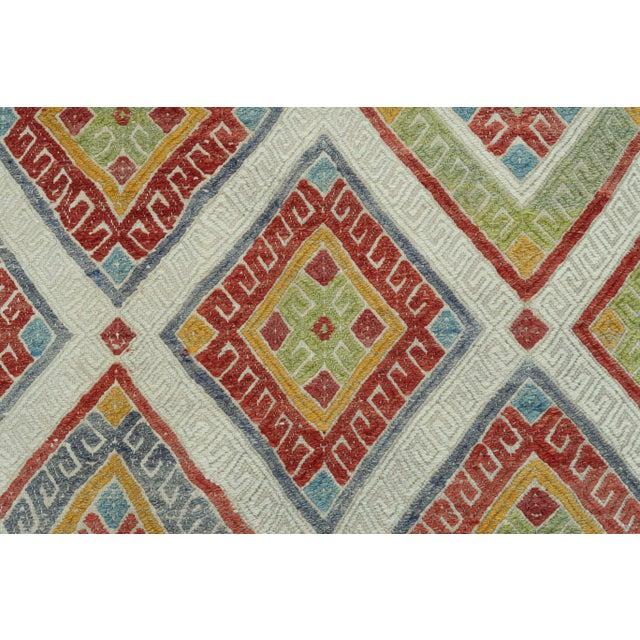 Beige Vintage Turkish Kilim Rug For Sale - Image 8 of 13