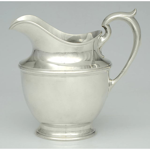 Gorham Silver Co. Gorham Silver Sterling 56oz Water Pitcher For Sale - Image 4 of 4
