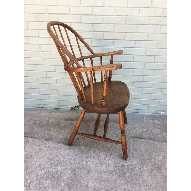 Windsor Bow Back Chairs - A Pair - Image 3 of 7
