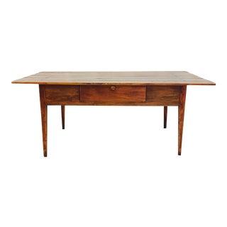 Antique Harvest Farm Table