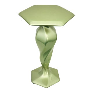 Accent Table No. 1 by Chris Delmar in Peridot For Sale