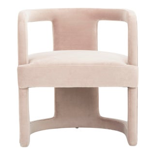 Rosa Pink Rory Accent Chair For Sale