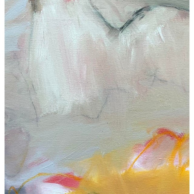 """Contemporary """"Sirocco"""" by Trixie Pitts XL Abstract Expressionist Oil Painting For Sale - Image 3 of 13"""