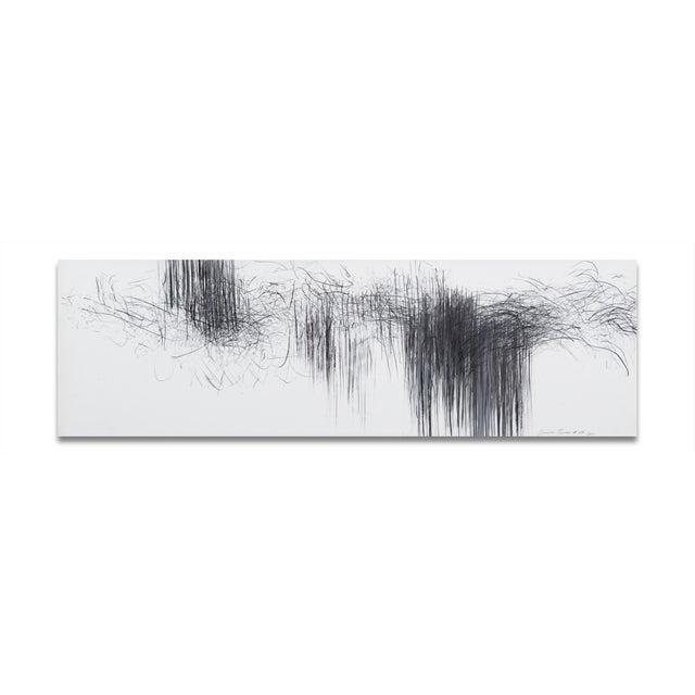 "Jaanika Peerna Jaanika Peerna ""Storm Series Horizontal 43"" Drawing For Sale - Image 4 of 4"