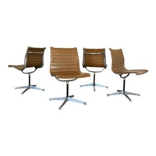 Vintage Herman Miller Eames Aluminum Group Chairs - Set of 4