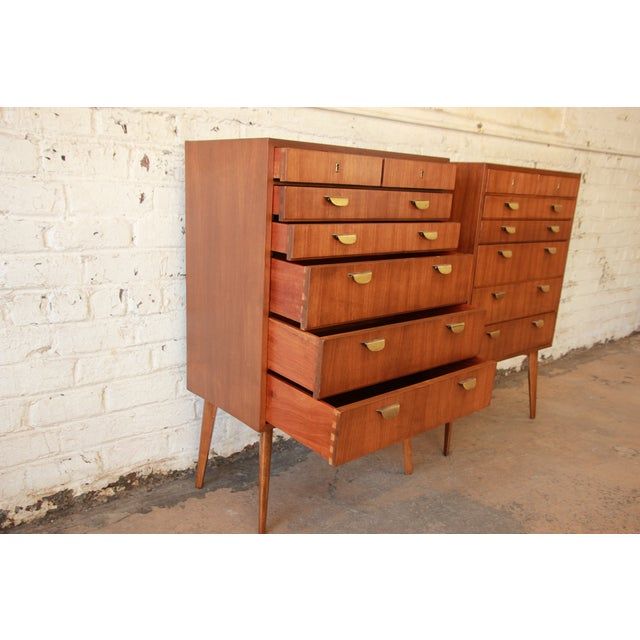 1950s Helmut Magg for Wk Möbel Bachelor Chest - One Available For Sale - Image 5 of 10