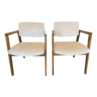 Marble Imperial Company Vintage Arm Chairs - a Pair For Sale