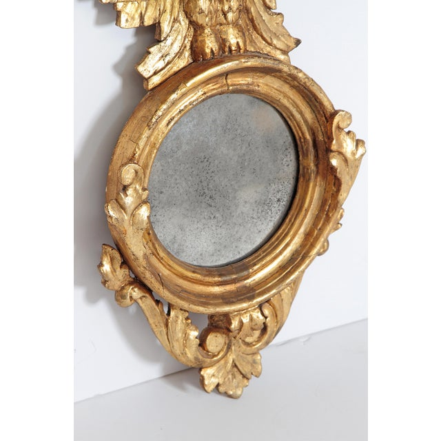 Pair of Giltwood Mirrors With Eagles, Wings Outstretched For Sale - Image 10 of 13