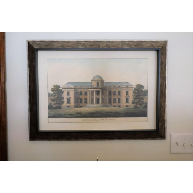 Architectural Rendering With Resin Frame For Sale - Image 5 of 5