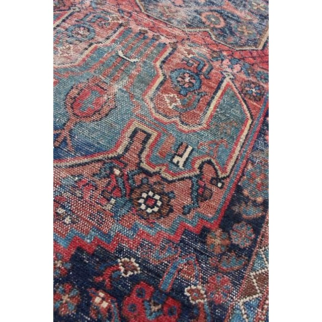 """Antique Persian Rug - 3'6"""" x 6'2"""" - Image 5 of 8"""