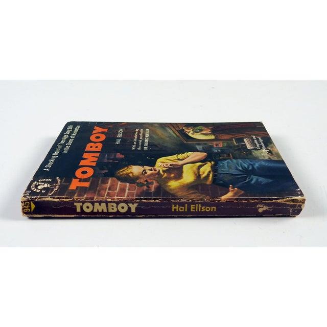 """""""Tomboy"""" Hal Ellson Bantam 1951 Vintage Pulp Paperback Book - Image 4 of 4"""
