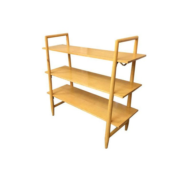 Edmond J. Spence Swedish Midcentury Bookshelf by Edmond Spence For Sale - Image 4 of 8