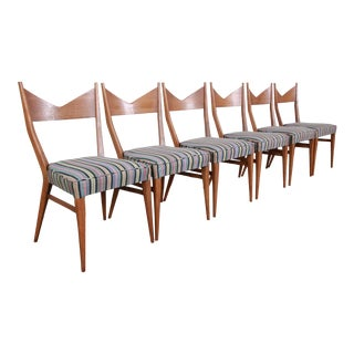 Paul McCobb for Directional Bow Tie Dining Chairs - Set of 6 For Sale