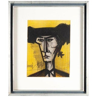 Bernard Buffet Toriodor Lithograph With Authenticity For Sale