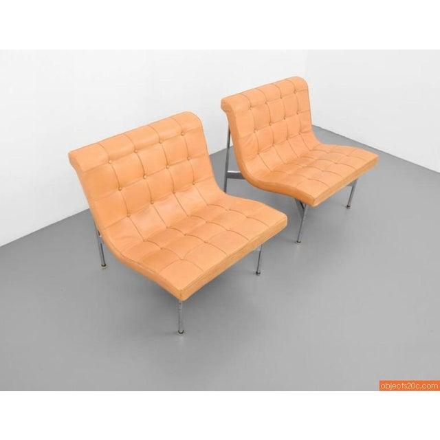Pair Of William Katavolos, Ross Littell & Douglas Kelley New York Lounge Chairs - Image 2 of 6