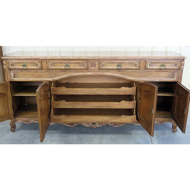 Brown Country French Sideboard For Sale - Image 8 of 9