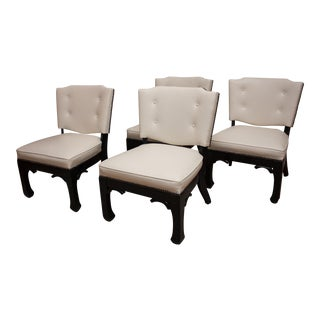 James Mont Style Game Chairs - Set of 4