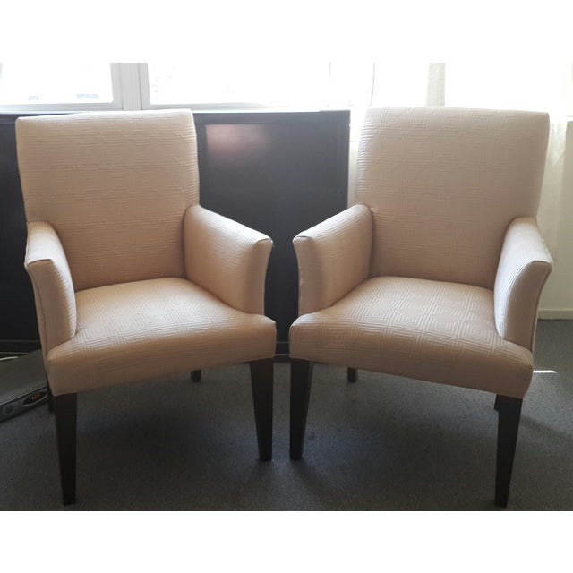 Thess Mitchell Gold + Bob Williams classic armchairs are timeless pieces with high furniture quality. Their clean and...