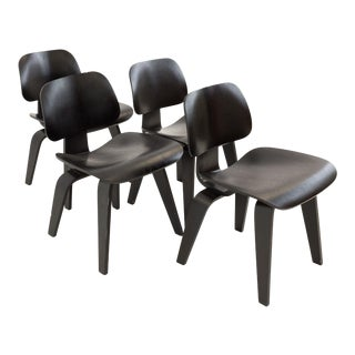 Vintage Mid Century Eames for Herman Miller LCW Style Chairs- Set of 4 For Sale