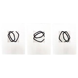 """Pierre Muckensturm """"12.5"""" Triptych Print For Sale"""