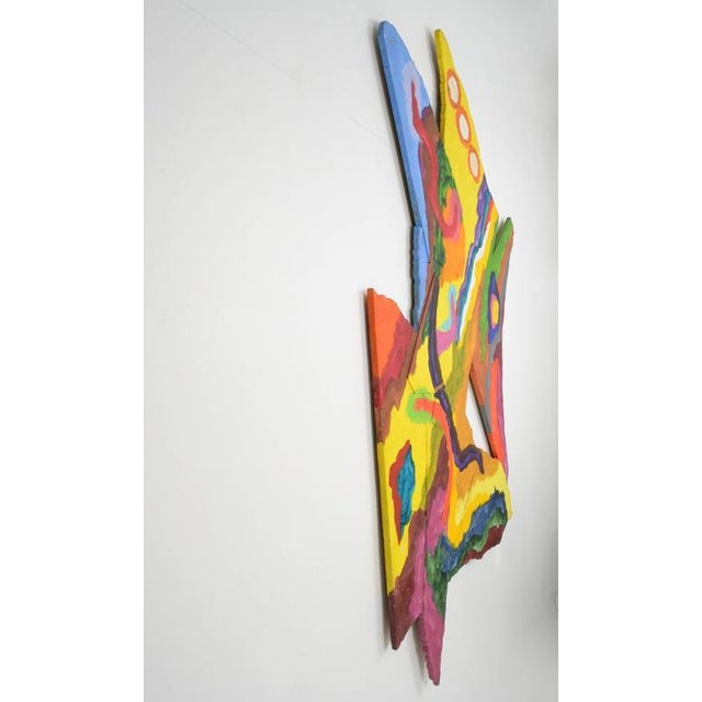 Alexander Liberman Acrylic on Board, 1987 For Sale In New York - Image 6 of 10